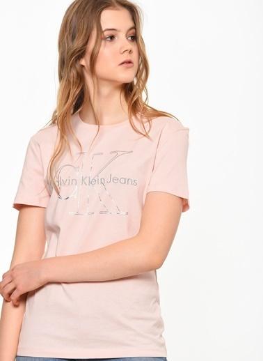 Calvin Klein Baskılı Tişört Renkli